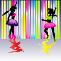 Neon Party Background Royalty Free Stock Photos