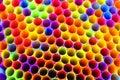 Neon Straws 2 Royalty Free Stock Photo
