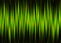 Neon waveform pattern with copy space Royalty Free Stock Photo