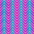 Neon waves seamless pattern Royalty Free Stock Photo