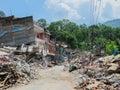 Nepal Earthquake Royalty Free Stock Photo