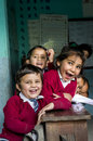 Nepal's children at school Royalty Free Stock Photos
