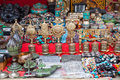 Nepal souvenir on sale in street market Royalty Free Stock Images