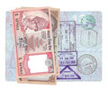 Nepalese rupee Royalty Free Stock Photography