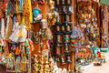 Nepalese souvenir shop Royalty Free Stock Photo