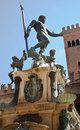 Neptune fountain, Bologna Stock Image