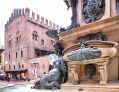 Neptune Fountain Bologna Stock Images