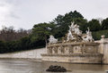 Neptune fountain in schonbrunn vienna palace garden austria Royalty Free Stock Images