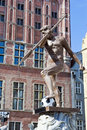 Neptune ready for Euro 2012 Royalty Free Stock Photography