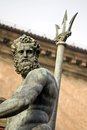 Neptune s portrait bologna the italy Royalty Free Stock Images