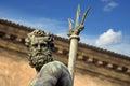 Neptune s portrait bologna a italy Stock Photos