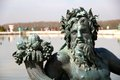 Neptune statue in versailles the of the gardens of the palace of france Royalty Free Stock Photo