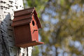 Nesting box Royalty Free Stock Photo