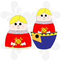 Nesting doll Stock Images