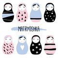 Nesting doll. Matryoshka, Russian doll