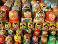 Nesting dolls Royalty Free Stock Photos