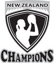 Netball  New Zealand Champions Royalty Free Stock Photo