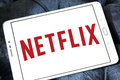 Netflix logo Royalty Free Stock Photo