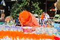 The netherlands april festivity during birthday of dutch queen or king in Stock Photography