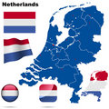 Netherlands  set. Stock Photo