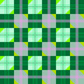 Nette Beschaffenheit mit grünen geometrischen Abbildungen Stockfotografie