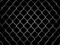 Netting on a dark background Stock Photo