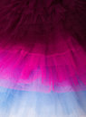 Netting layers of in different colours from ballet tutus Royalty Free Stock Images