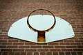 Netto basketbal Stock Afbeeldingen