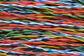 Network cables colorful Stock Photos