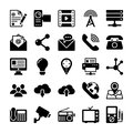 Network and Communication Vector Icons 4