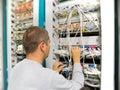 Síť inženýr řeší komunikace