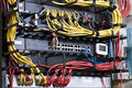 Title: Network hub and patch cables