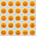 Network Icons Set. Collection Of Web Profile, Team Organisation, Mailbox And Other Elements. Also Includes Symbols Such