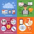 Network Security 2x2 Design Concept