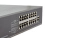 Network switch front panel isolated Royalty Free Stock Photo