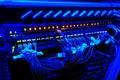 Network switch - hub Royalty Free Stock Photo
