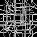 Network tile Stock Photo
