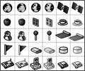 Networking Icons #02 Royalty Free Stock Photo