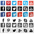 Networking social media png 3D flat