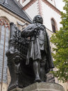 Neues bach denkmal the in leipzig germany Stock Image