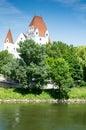 Neues Schloss castle in Ingolstadt Royalty Free Stock Photo
