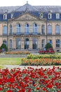 Neues Schloss New Castle. Palace of the 18th century in baroque style in Germany, Stuttgart Royalty Free Stock Photo