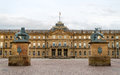 Neues schloss new castle in stuttgart germany Royalty Free Stock Photography