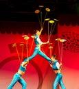 An neuf chinois 2011 Image libre de droits
