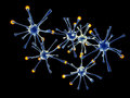 Neuronal Network Stock Photography