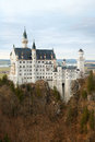 Neuschwanstein castle in autamn bavaria germany Royalty Free Stock Photography