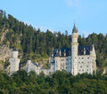 Neuschwanstein castle bavaria germany Stock Photo
