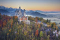 Neuschwanstein Castle, Germany. Royalty Free Stock Photo