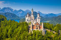 Neuschwanstein Fairytale Castle, Bavaria, Germany Royalty Free Stock Photo