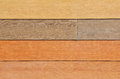 Neutral color wood siding background Stock Photography